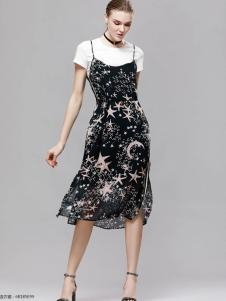 2018imili艺梦来吊带裙两件套
