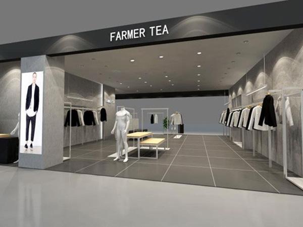 农茶店铺展示