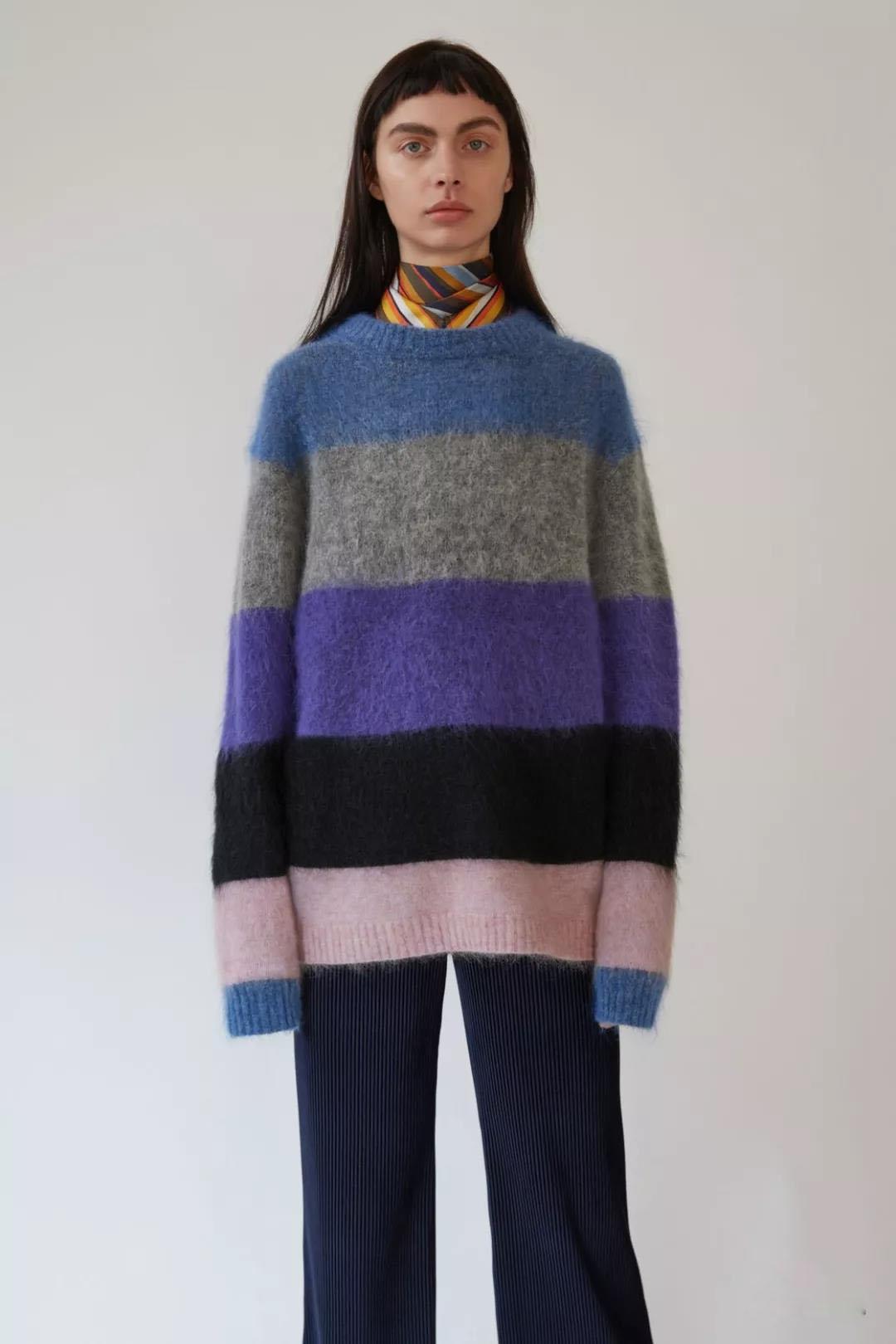 女式羊毛衫加工定做女装供应