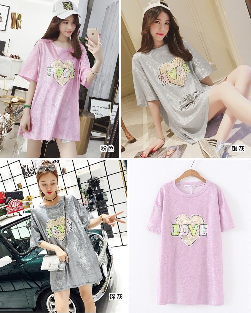 韩版时尚女式T恤女装供应