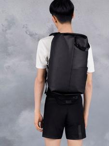 高迪斯奧黑色休閑雙肩包