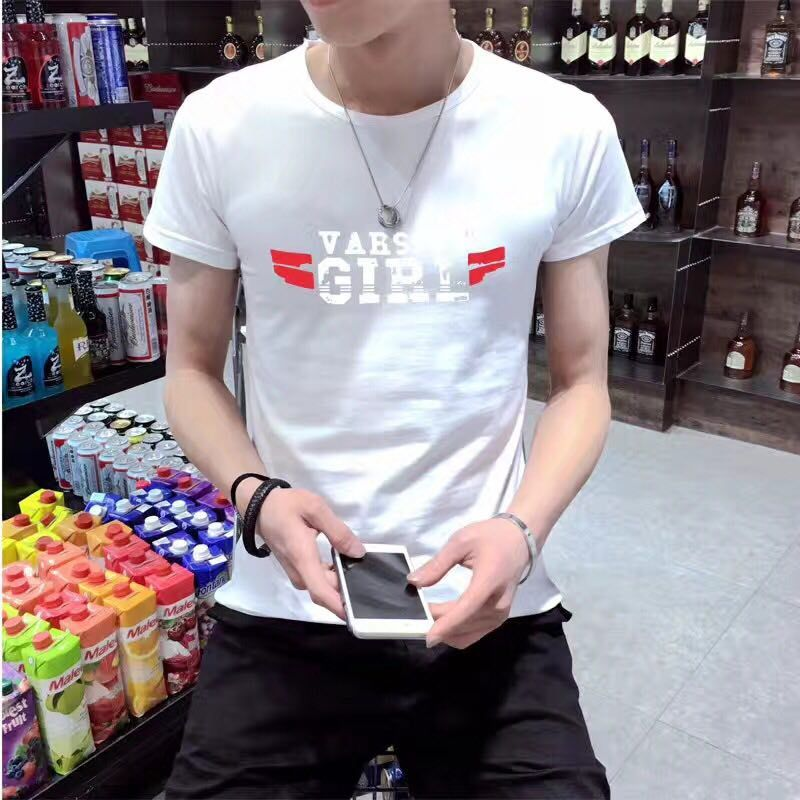 时尚韩版男装T恤批发男装批发