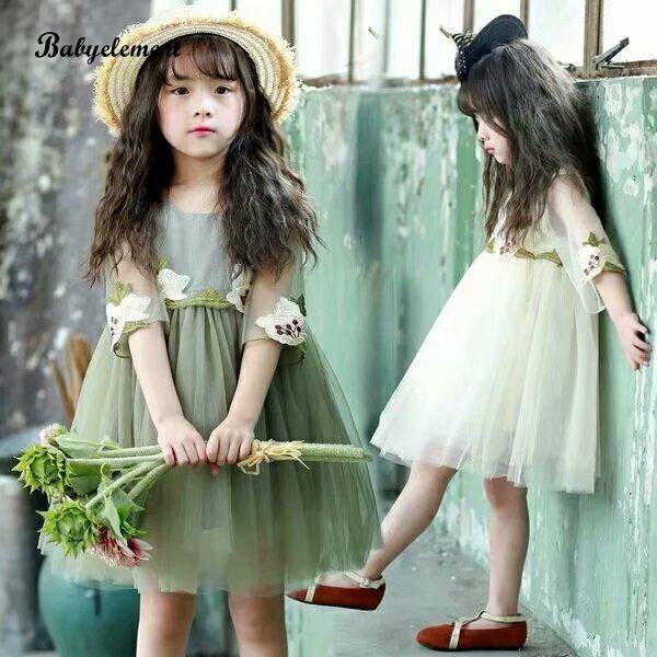 时尚童装女裙尾货批发童装批发