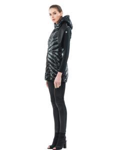 SNOWMAN NEW YORK黑色羽绒服