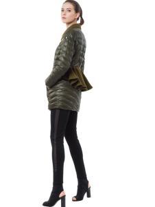 SNOWMAN NEW YORK短款修身羽绒服