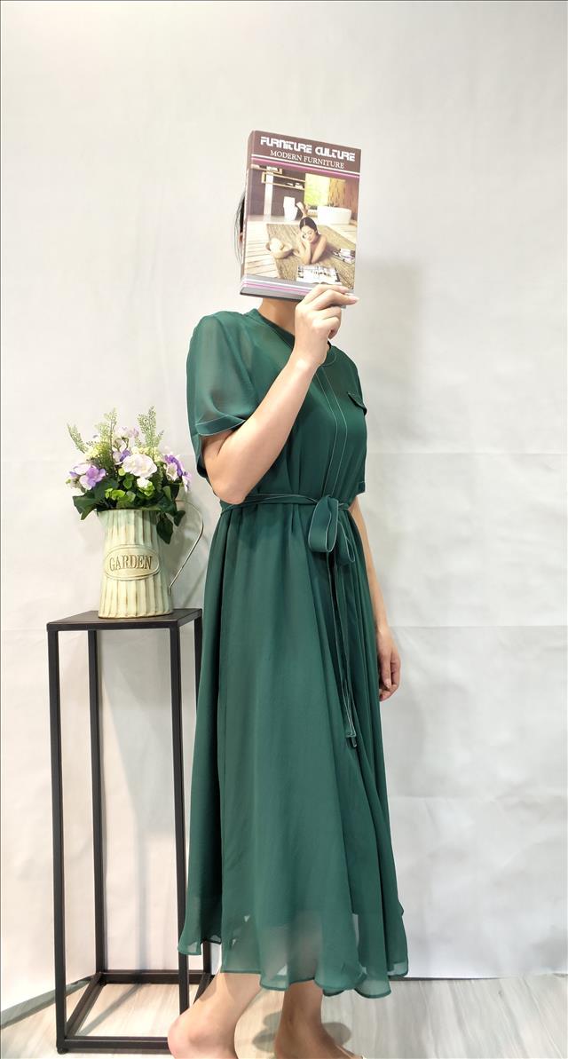 可可桑晨丝绸服饰女式连衣裙女装供应