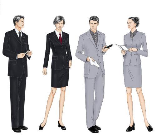 潮流的职业装职业装供应