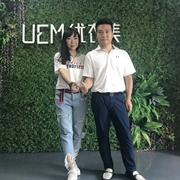 恭喜云浮市场终端零售精英王总签约UEM优衣美女装!