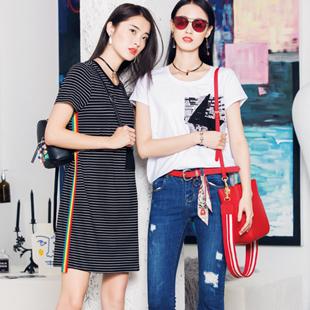 开快时尚女装品牌加盟店 布根香诚邀加盟!