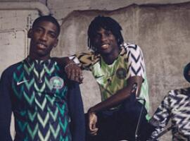 世界杯还未到,尼日利亚球衣先受到狂热追逐!