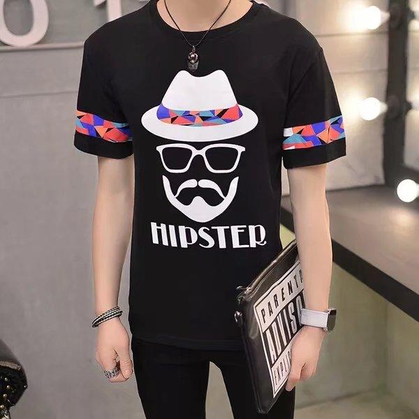 时尚潮流男式T恤男装供应