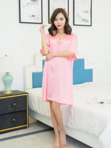 玫瑰春天新款气质时尚睡衣