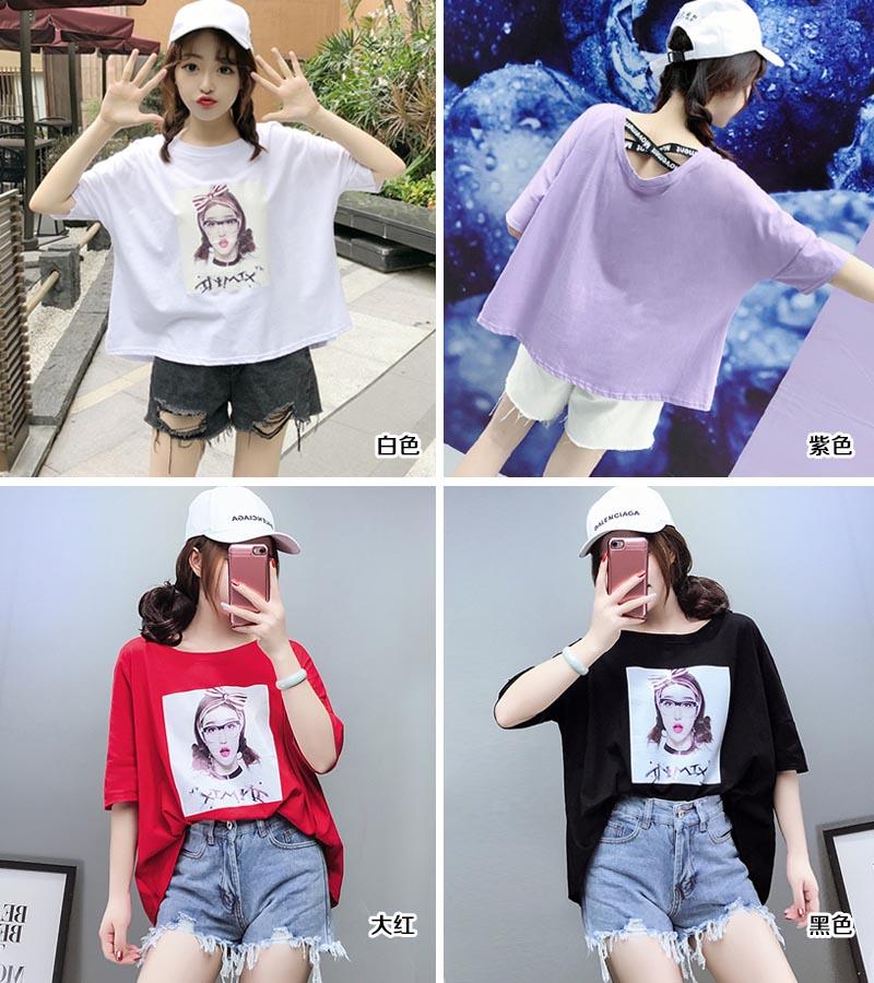 时尚潮流女装T恤供应女装供应