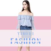 YINFEI音非女装2018夏日新品 打造夏日甜美女神风
