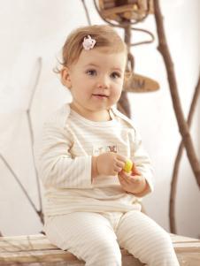 本色棉舒适时尚婴童套装