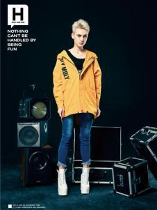 HOLYMOLY新款黄色外套