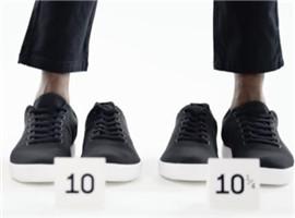 美国Atoms推出鞋码差值只有四分之一的运动鞋