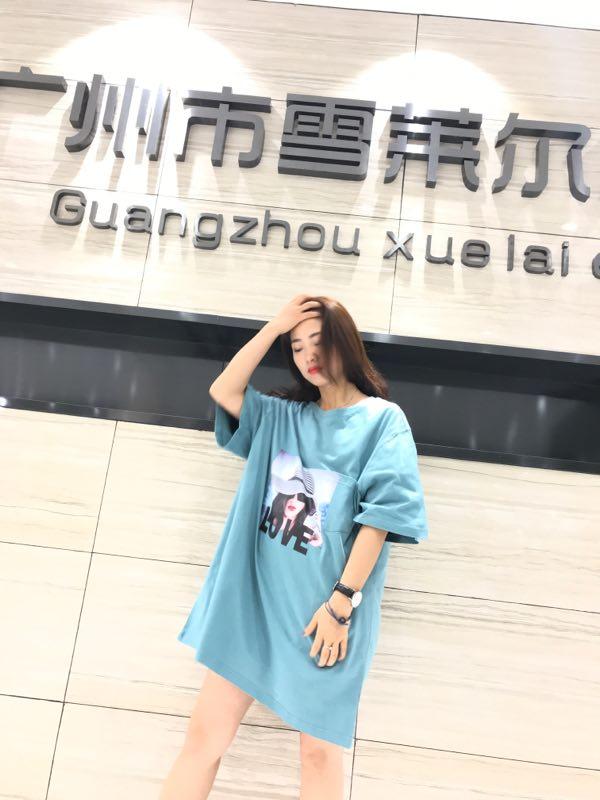 品牌折扣女装大码T恤一手货源批发分份批发