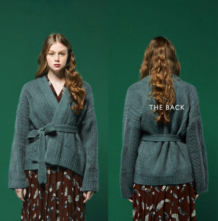 专业的女式羊毛衫加工女装加工