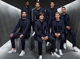 世界杯成时尚西装大战中 男模队德国居然遇到了对手