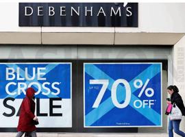 Debenhams百货股价重挫 半年内三发盈利预警