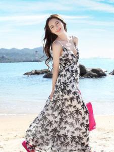 Tynuhea女装吊带长款连衣裙
