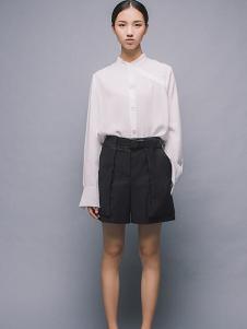 MAISON MAI 女装白色宽松衬衫