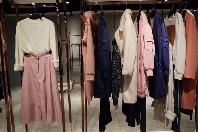 山水雨稞时尚休闲风格女装折扣尾货女装尾货