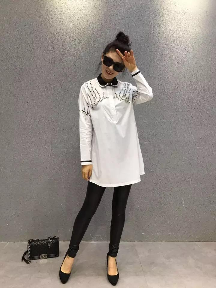 时尚女式衬衫女装供应
