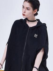 7CRASH女装黑色休闲外套