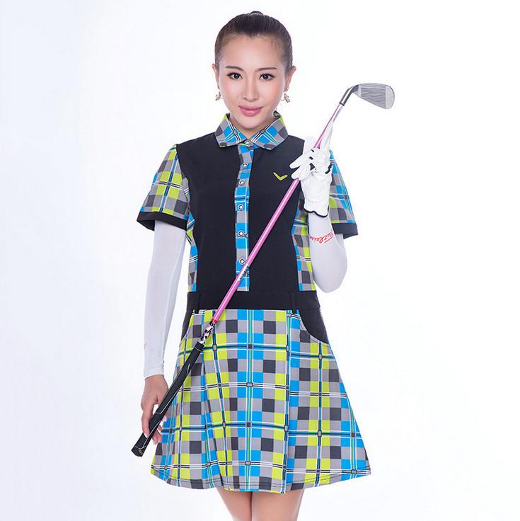 高爾夫運動女裝連衣裙運動裝供應