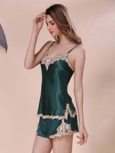 卡丝蓝芬蕾丝吊带睡衣