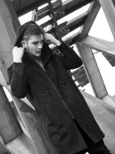 后印象男装气质时尚百搭大衣
