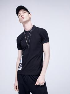 99cm新款黑色短袖T恤