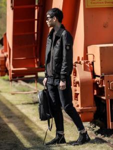 99cm新款时尚气质皮外套