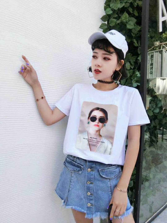 夏装女式T恤低价清仓批发