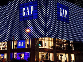 零售行业回暖 快时尚品牌Gap却屡现低迷情景