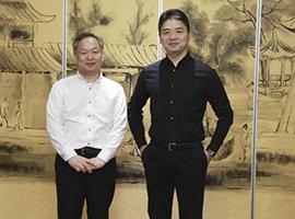 无印良品与京东双方战略合作升级 松崎晓社长与刘强东会面