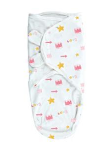 弗贝思婴儿小皇冠襁褓睡袋
