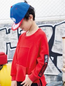 玛玛米雅新款红色卫衣