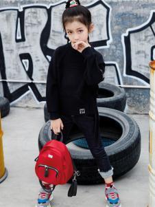 玛玛米雅新款黑色卫衣