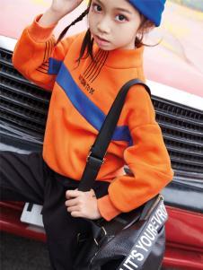 玛玛米雅新款橙色卫衣