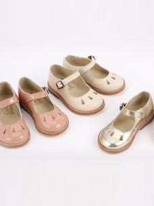 Ala Cofly粉色镂空皮鞋