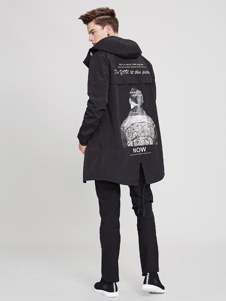佐纳利黑色外套