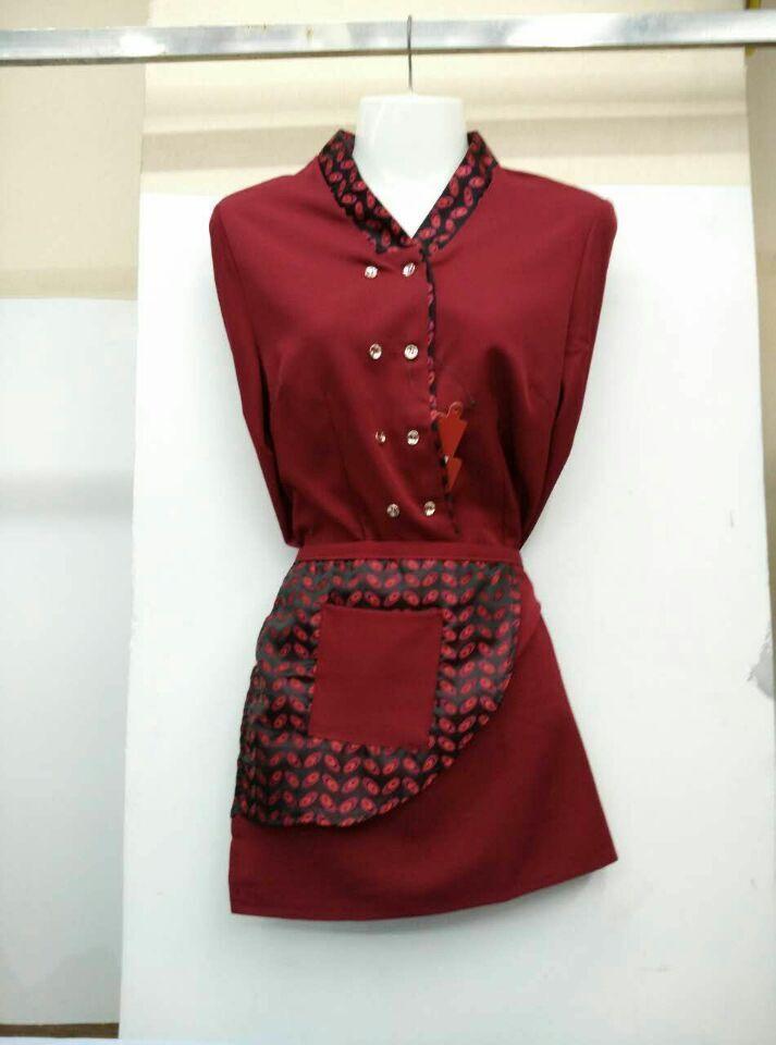 酒店女式工作服,一条龙服装商行