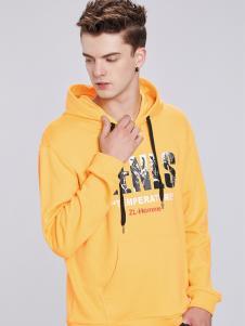 佐纳利黄色卫衣