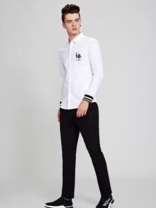 佐纳利白色衬衫