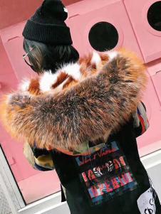 衣魅人女装大牌狐狸毛大衣