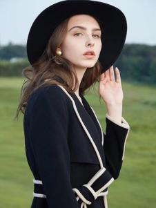 衣魅人女装英伦复古大衣