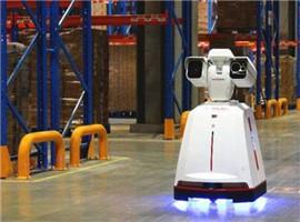 京东第二代巡检机器人正式投入使用